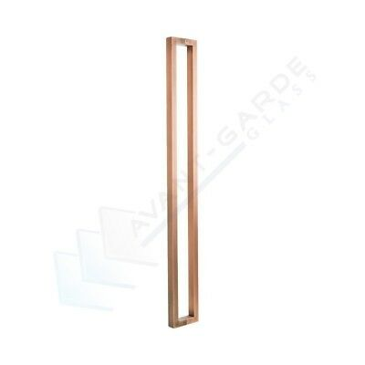Front Door Handle Entrance Pull 1200 Long Antique Copper External Stainless Stee