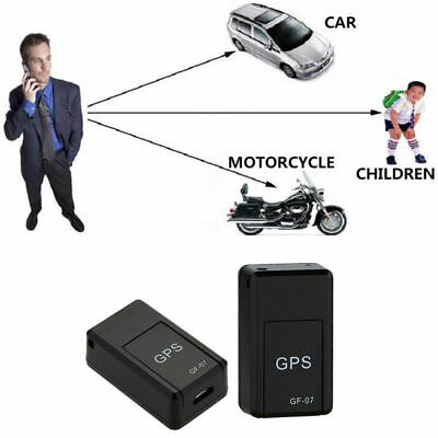 Magnetic Car SPY GPS Real Time Tracking Locator Device Voice Record Mini Tracker