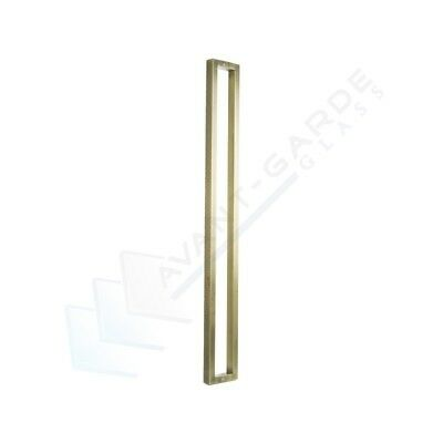 Front Door Handle Entrance Pull 1200 Long Antique Brass External Stainless Steel