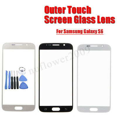 Front Outer Touch Screen Glass Lens Replacement Tools Kit For Samsung Galaxy S6