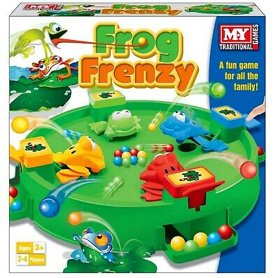 Frog Frenzy Traditional Board Game Children Kids Family Game Toy Gift New