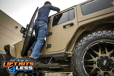 Aries 3025165 ActionTracT Powered Running Boards for 07-18 Jeep Wrangler (JK)/JL
