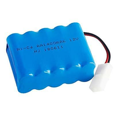 Rechargeable 12V 1400mAh Ni-Cd AA Battery Pack With KET 2P Plug For RC Toys