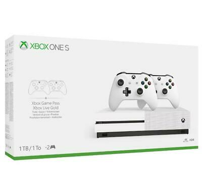 Console Xbox One S 1 TB + 2 Controller Wireless Limited Bundle