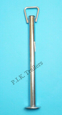 Prop Stand with HANDLE 34mm dia. x 450mm - Standard Duty - Trailer Corner Steady