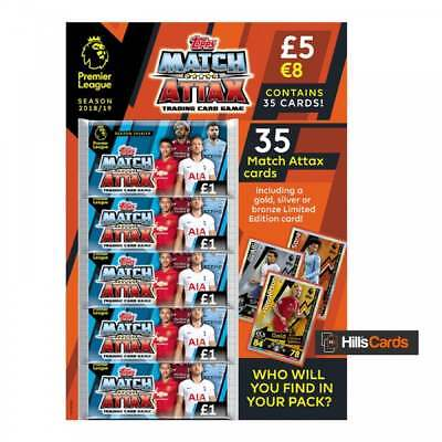 Match Attax 2018/19 Multipack - Topps EPL Premier League Football Cards