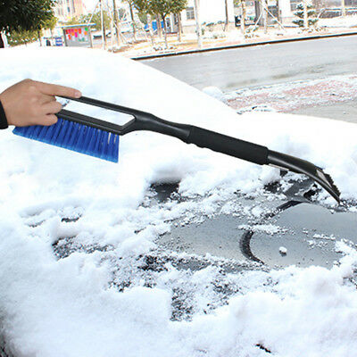 Clean Tool Snow Removal Cleaning Care Ice Scraper Car Snow Brush Universal