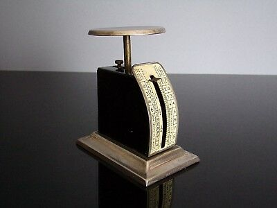 M.MYERS & SONS POSTAL SCALE Pèse lettre Made in England USA 1900's