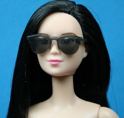 Barbie Silver Mirrored Club Master Inspired frames Sunglasses 1//6 scale doll