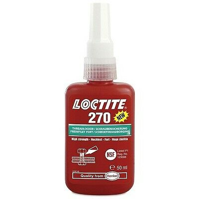 Loctite 270 High Strength Threadlocker - 50ml