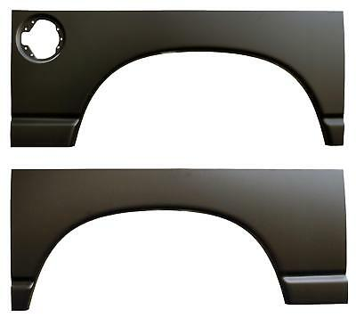 Rear Wheel Arch Quarter Panel with Gas Hole 02-08 Dodge Ram 1500-PAIR