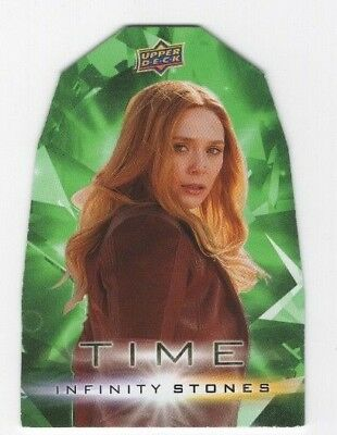 2018 Upper Deck Marvel Avengers Infinity War Stones Time GT1 Scarlet Witch