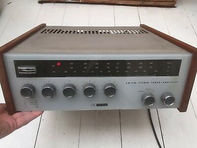 Vintage Amplifier Armstrong Model 227 AM/FM Stereo Tuner Tube Amp Working
