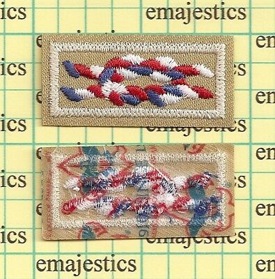 Bsa Eagle Scout Rank Award Square Knot Patch Since 1910 Backing Mint Real