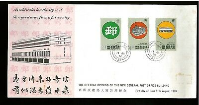 ( Hkpnc ) Hong Kong 1975 Hk Post Office Cpa First Day Cover.few Toning Spot