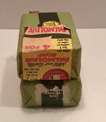 VINTAGE PALMOLIVE Bar Soaps Advertising General Store Free Shipping Old