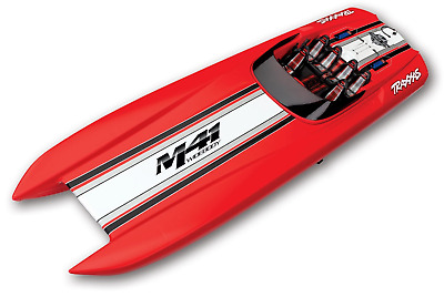 Traxxas Dcb M41 Widebody Boat Tsm Rtr Red