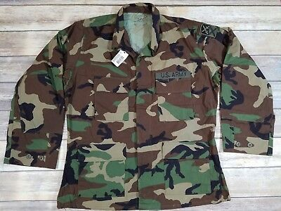 Hot Weather Combat Top Woodland BDU 167th Support Command Patch Large Regular