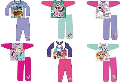 Girls Official Minnie Mouse Paw Patrol My Little Pony Character Pyjamas Pjs