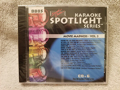 Sound Choice Karaoke CD+G Spotlight Series Movie Madness - Vol. 3 - 8885 New!