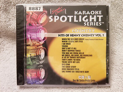 Sound Choice Karaoke CD+G Spotlight Series-Hits of Kenny Chesney - Vol. 1 - 8887