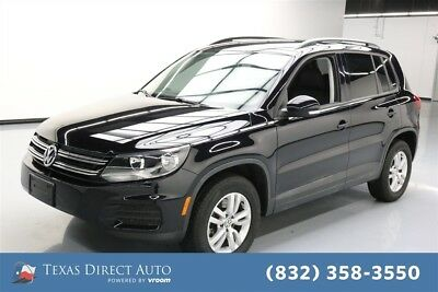 2017 Volkswagen Tiguan S Texas Direct Auto 2017 S Used Turbo 2L I4 16V Automatic AWD SUV Premium