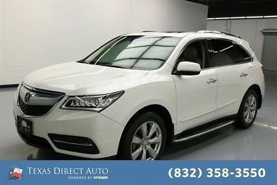 2015 Acura MDX Advance/Entertainment Pkg Texas Direct Auto 2015 Advance/Entertainment Pkg Used 3.5L V6 24V Automatic AWD