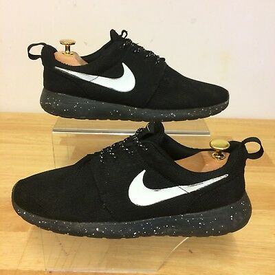 release date e806f 7ab65 ... where can i buy nike roshe run black trainers speckled sole uk 8.5 eu  43 108d8