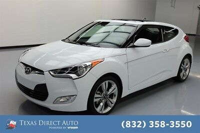 2017 Hyundai Veloster Value Edition Texas Direct Auto 2017 Value Edition Used 1.6L I4 16V Automatic FWD Hatchback
