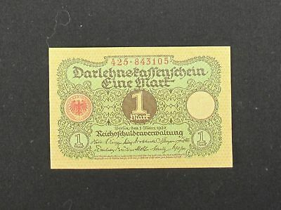 Germany -- 1 Mark Banknote P-58 1920 Uncirculated