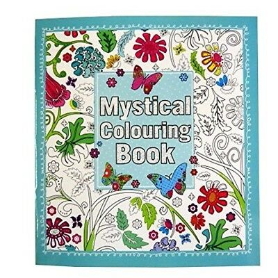 Mystical Adult Colouring Book - 64 Pages. Anker. Free Delivery