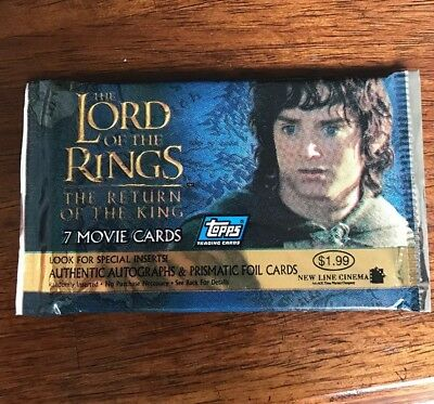 Lord Of The Rings Return Of The King Movie Cards