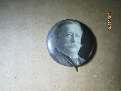 1908-12 William Howard Taft Pin Pinback Campaign Button Whitehead & Hoag 1894-96