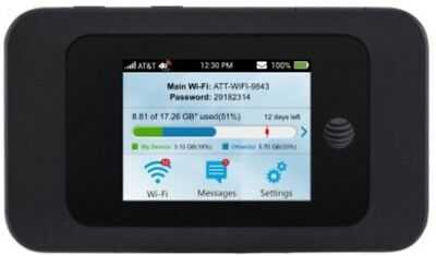 ZTE Velocity 2 MF985 AT&T 4G LTE Mobile wifi Hotspot unlocked *READ B4 YOU BUY*