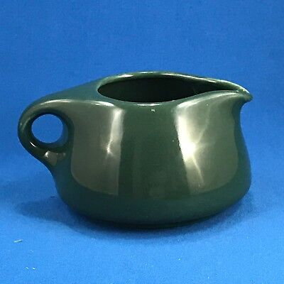 Iroquois Russel Wright Creamer MCM China Forest Green Stackable Stacking Vintage