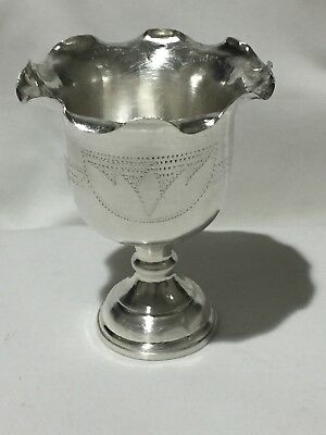 Silver Trophy Cup Chalice