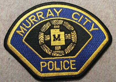 UT Murray City Utah Police Patch