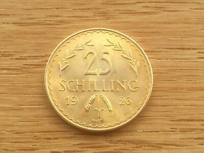 1926 AUSTRIA 25 SHILLING GOLD COIN @@@ Must See@@ KM#2841