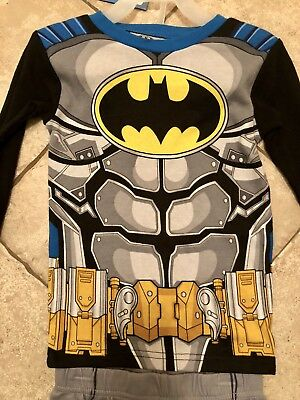 Boy's Batman Muscle Pajamas - 2 Piece - New With Tags