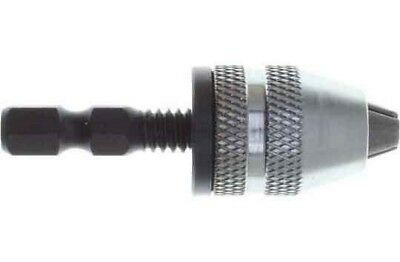 Hex Drive Keyless Chuck Holds 0 to 1/8 Inch Shanks