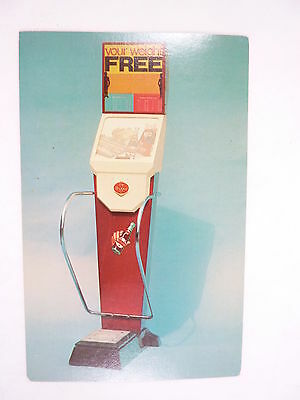 Dr. Pepper Advertising Scale Color Ad Card 1960's