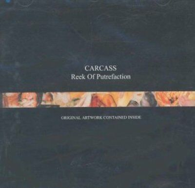 Carcass - REEK OF PUTREFACTION - CD - New