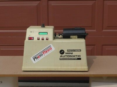 PhotoTherm  FP-1 Film Processor with Processing Drum