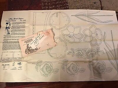Vtg Alice Brooks Designs Iron On Embroidery Transfer Pattern # 7265