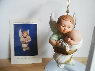 1998 Ashton-Drake Porcelain Ornament His Name Shall Called Wonderful Counselor