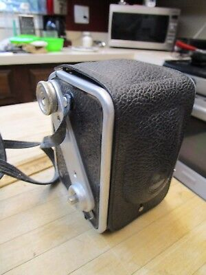 Kodak Duaflex Box Camera  Vintage With Cover