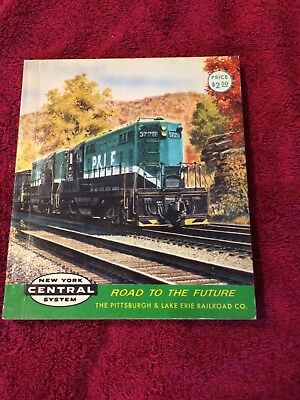 Howard Fogg postcard book of the Pittsburgh & Lake Erie and New York Central