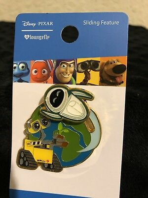 Loungefly Disney Pixar Wall-E and Eve Flying Around Earth Pin