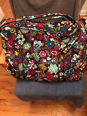 Vera Bradley Authentic Disney Parks Mickey Mouse Travel Bag/Duffle bag Pre-owned