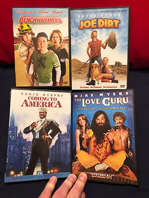 SNL Alumni DVD's! Coming to America, Joe Dirt, The Benchwarmers, The Love Guru